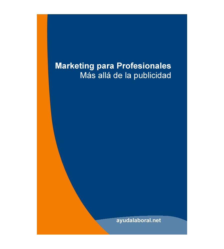 Portada Marketing para Profesionales - Más Allá de la Publicidad